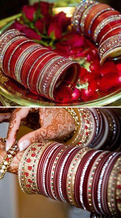 indian bridal chura weddings indian bridal