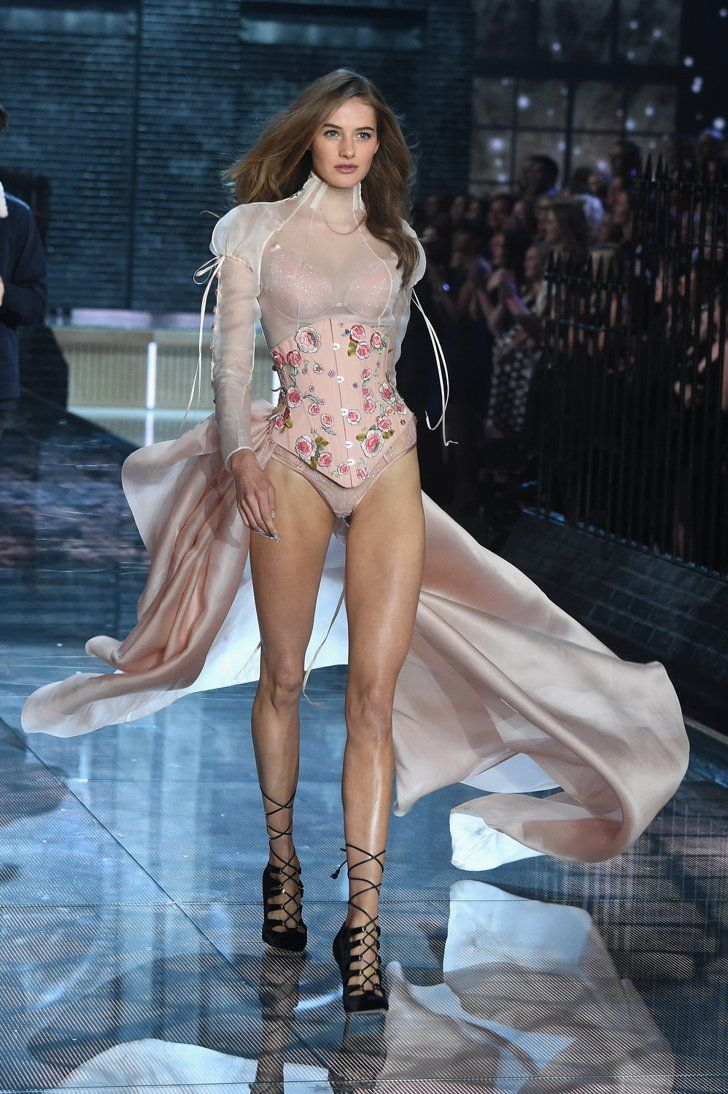a733471c276 Pin for Later  All the Must-See Action From the 2015 Victoria s Secret  Fashion Show Pictured  Sanne Vloet