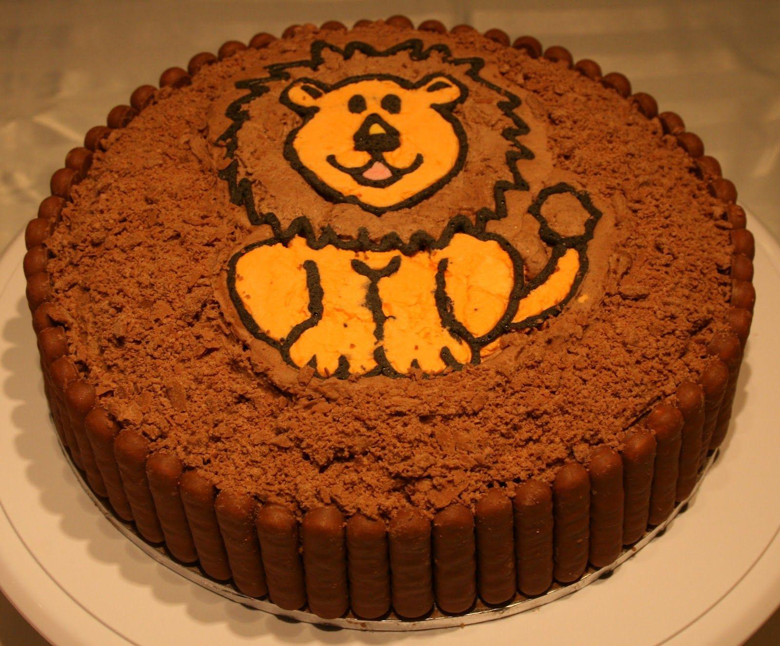 Lion Birthday Cakes Pinterest Lion birthday