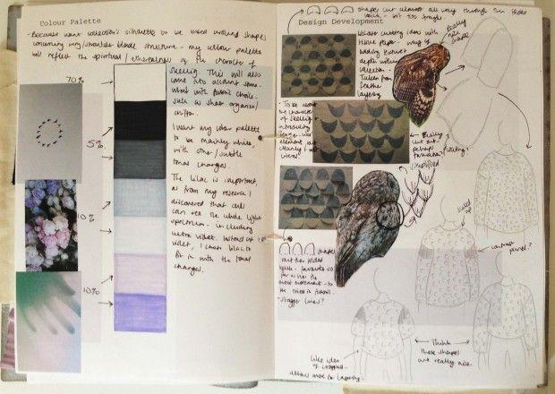 79ed05c2010f Fashion Sketchbook exploring colours