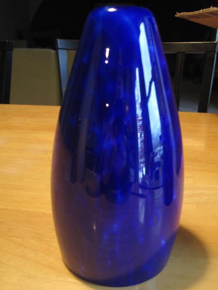 Blue Modern Replacement Glass Shade Pendant Bar Light