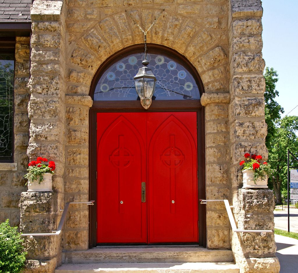 Freeport Church Door |  Illinois.