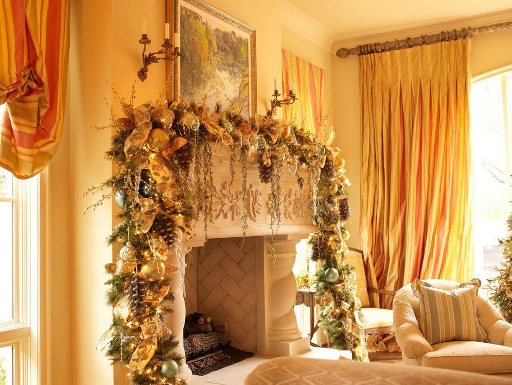 beautiful ideas for christmas fireplaces decor | christmas mantel