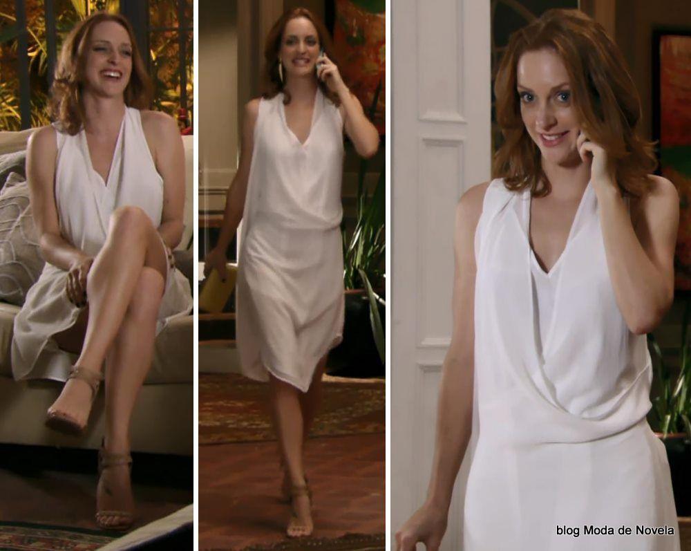 Alguns looks da Priscila em janeiro e fevereiro na novela Além do Horizonte