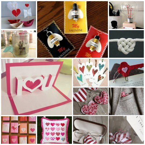 101 Handmade Valentine S Day Ideas Valentine Crafts Unique Valentines Day Ideas Valentines Diy