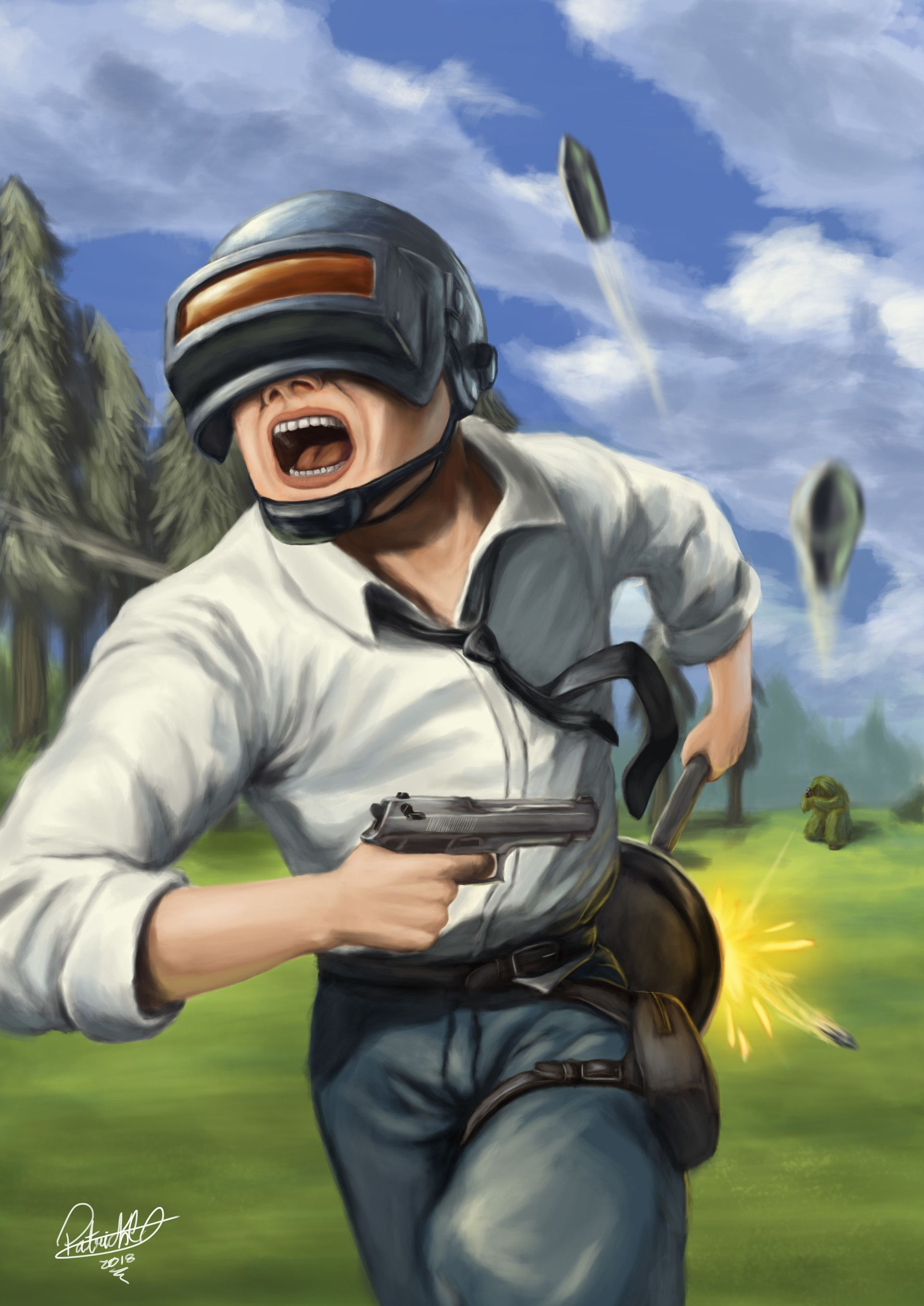 Pubg Cartoon 4k Wallpapers Pubg Playersunknown
