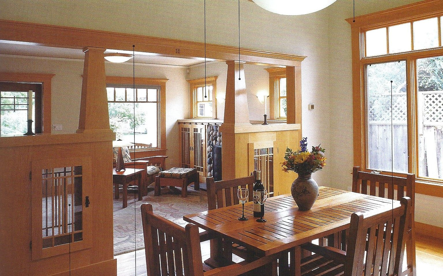 Craftsman Style Home Interiors Arts And Crafts Neo