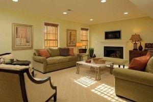 Consejos e ideas sobre las decoración de interiores. Y además aprende cómo pintar tu sala de dos colores...