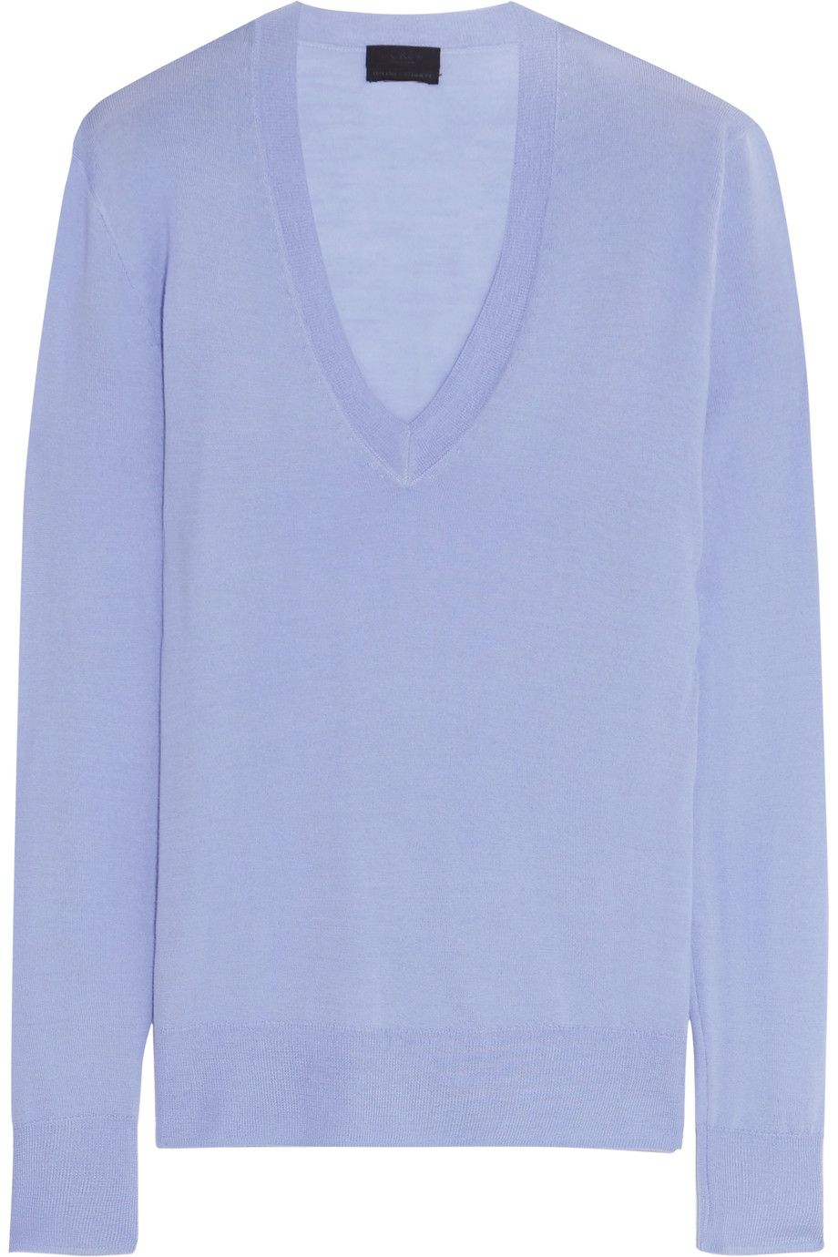 J.CREW Cashmere sweater Lavender cashmere Slips on 100% cashmere ...