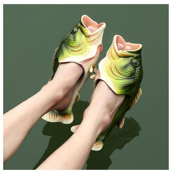 rubber sandals, fish shoes and fish sandals