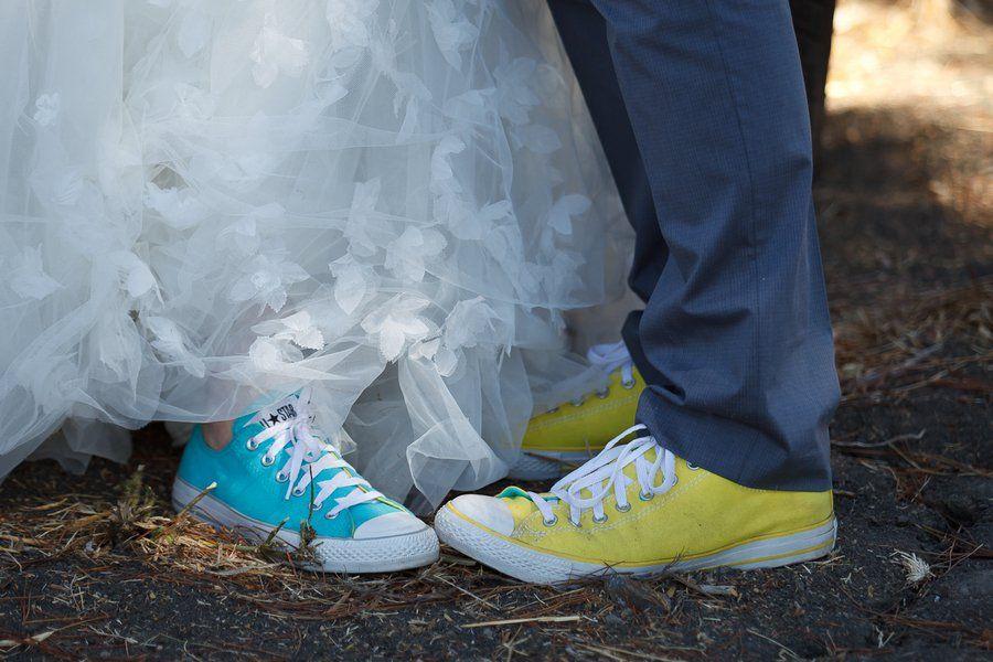 Sneakers At Wedding