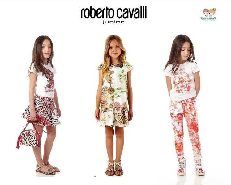 #RobertoCavalli Junior #girls clothes from spring/summer 2015 collection.  Shop now at www.kidsandchic.com/brands/roberto-cavalli-junior  #RobertoCavalliJunior #kidsfashion #kidsstyle #kidsclothing #shoponline #kidsandchic #kidsandchiccom #kidsboutique #modainfantil #ropainfantil #tiendainfantil #barcelona #castelldefels #verano2015