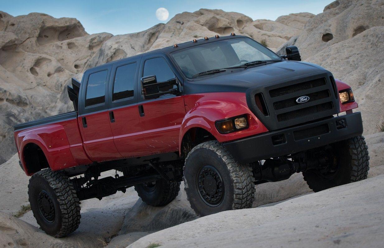 Ford F650 6 door 4x4.. Diesel brothers, Lifted trucks