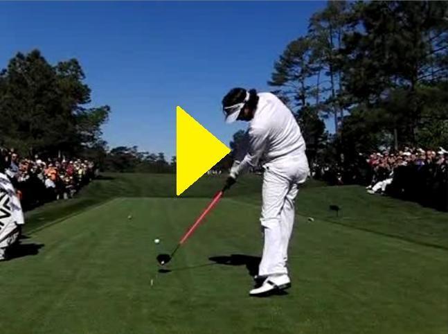 Bubba Watson Slow Motion Golf Swing Powerchalk