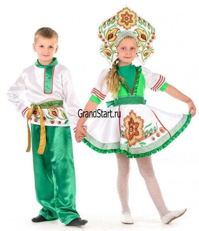 детский народный костюм для девочки