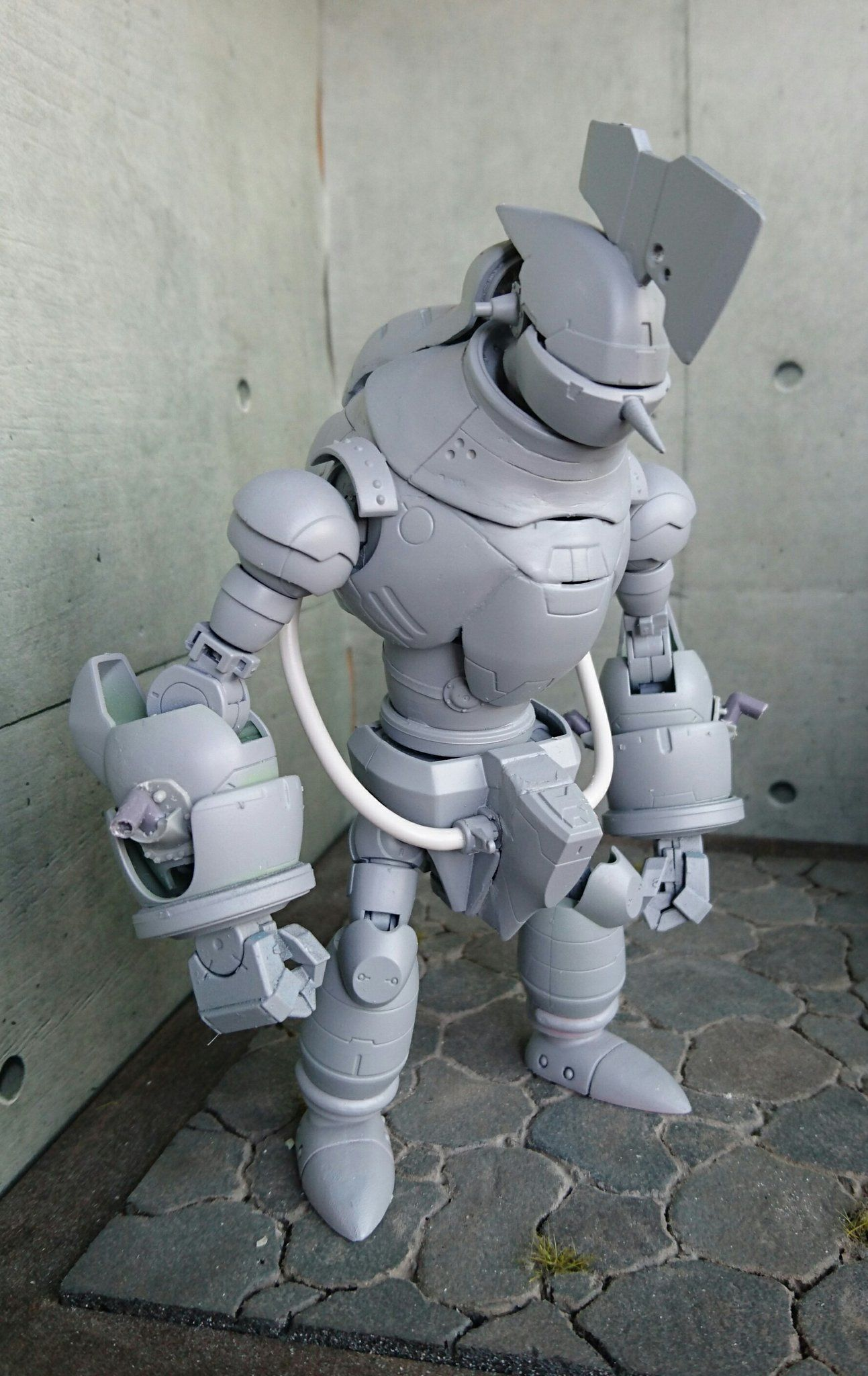 dcgz weuiae7yyu jpg orig 1293 2048 ロボットアート 人型 ロボット 鉄人