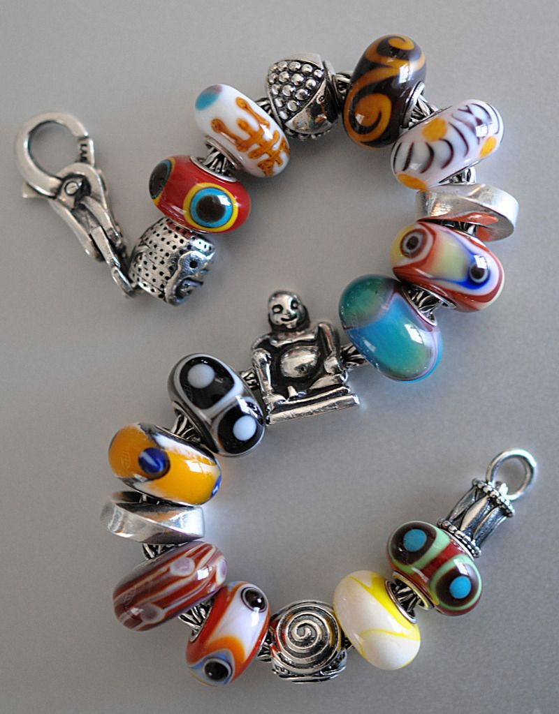 tibet kit i did not create this trollbeads design amazing unique beads used as well
