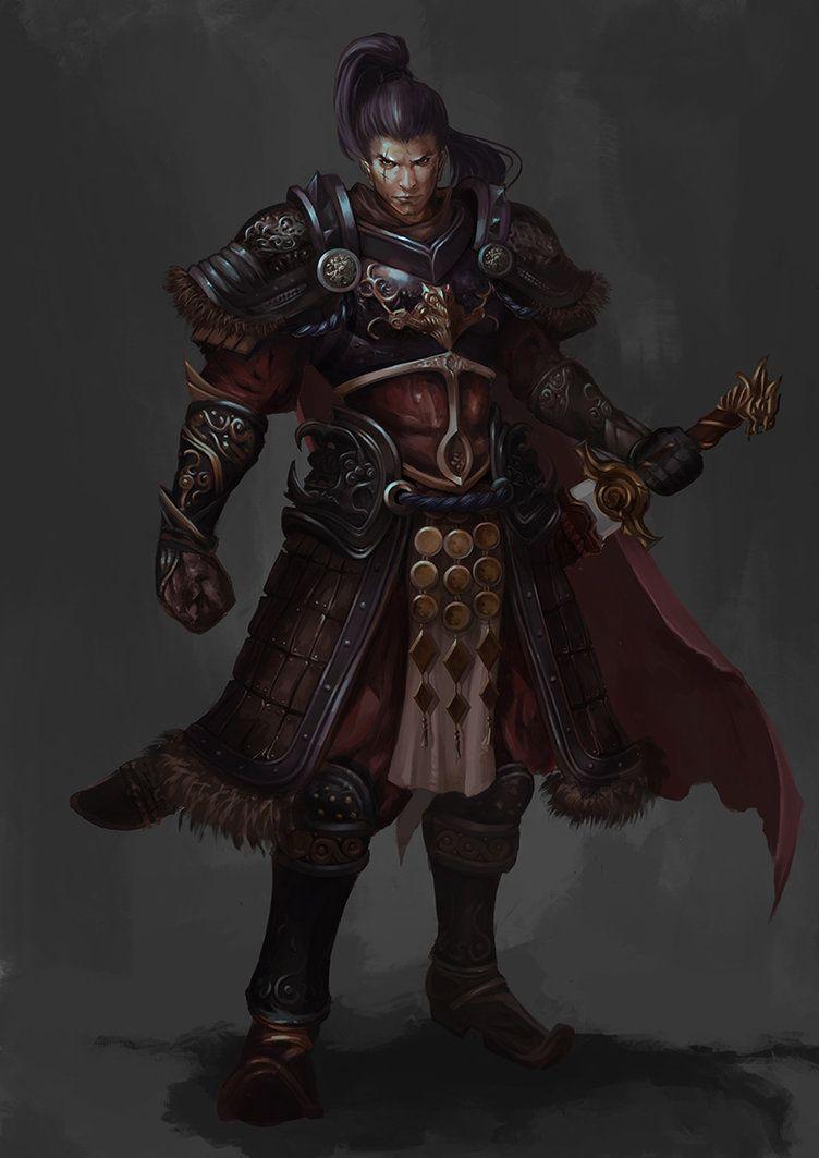 Yoshimitsu | Fantasy art warrior, Samurai art, Samurai tattoo