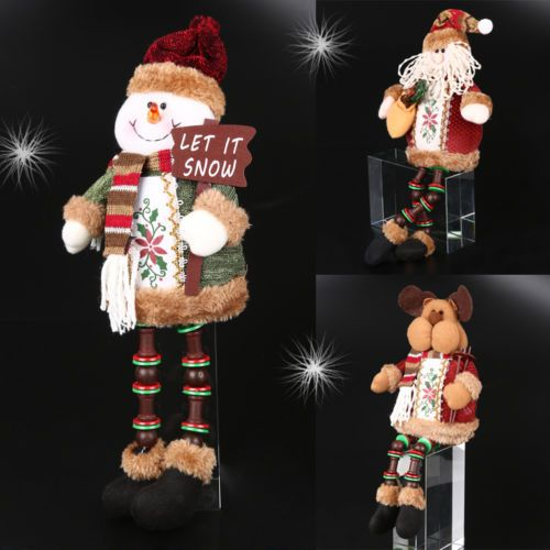 Santa-Reindeer-Snowman-Doll-Christmas-Decoration-Xmas-Tree-Hanging-Ornament-Gift