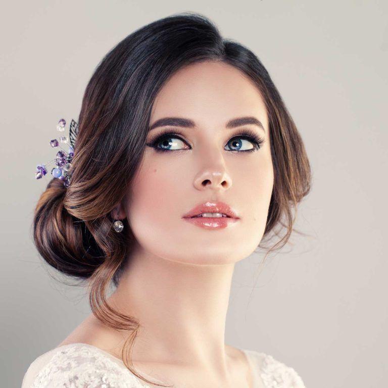 Braut Make Up Visagistin Hochzeit Wedding Hairstyles Hair Styles Medium Length Hair Styles