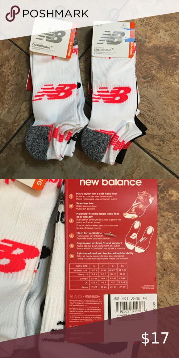Balance cushioning no show socks