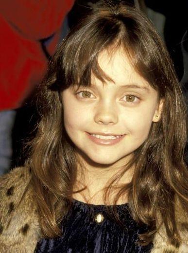 Christina Ricci childhood photo