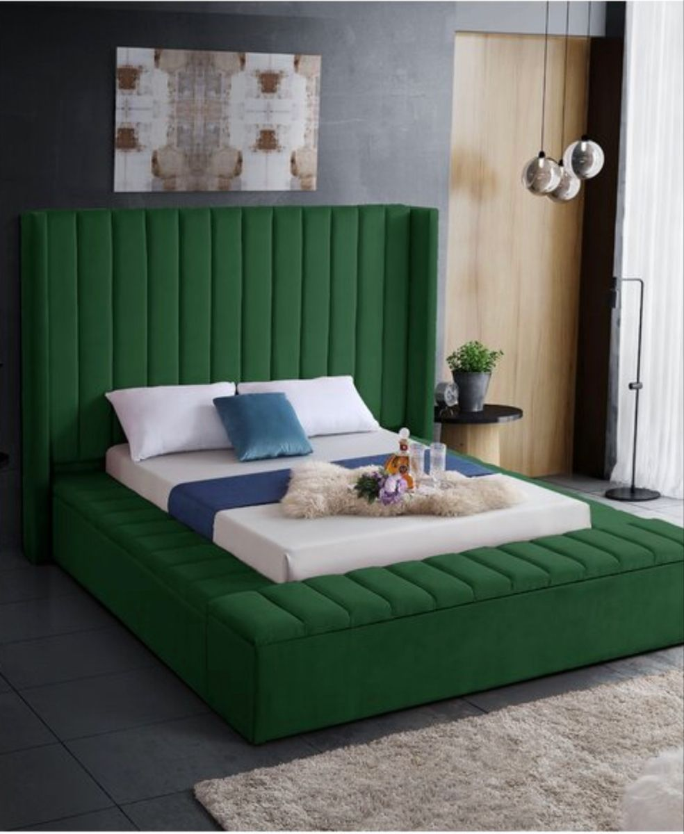 wayfair queen bed on everly quinn rick solid wood tufted upholstered storage platform bed meridian furniture modern bed upholstered platform bed bed upholstered platform bed