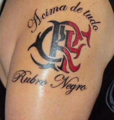 Tatuagem Do Flamengo Crf Tatoocrf Flamengo Tatuagens
