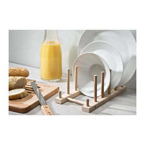 Nyplockad tellerhalter buche kitchen ikea kitchen for Ikea tellerhalter