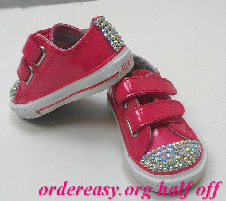 Pink #Converse bTaylor low-tops; #sneakers | Kids tennis shoes ...