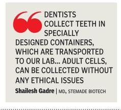 Stemade Biotech & importance of Dental stem cell