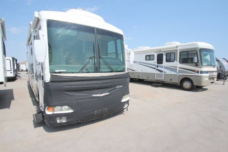 2001 Fleetwood AMERICAN TRADTION M-37TRS for sale - Oklahoma