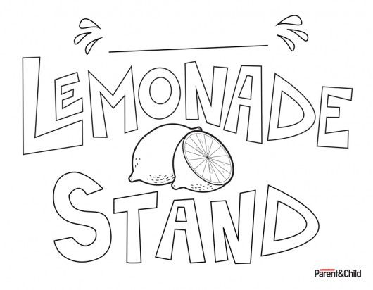 Lemonade Sign | Creative Fundraising | Lemonade sign, Kids ...