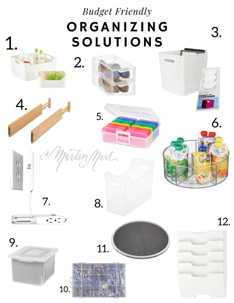 Top Budget Friendly Organizing Products In 2020 Organization