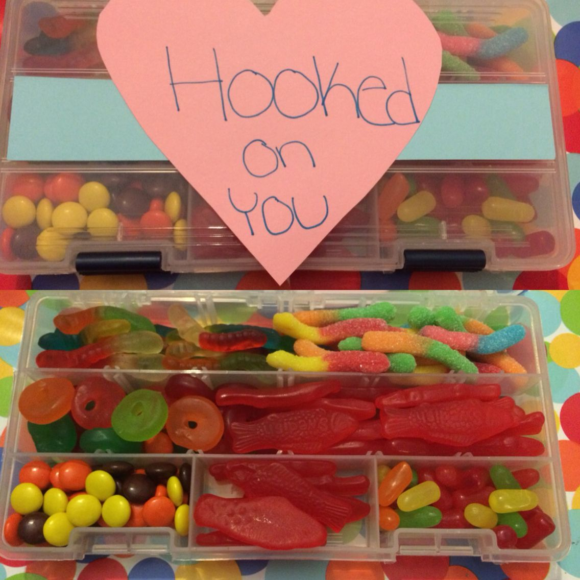 Hooked On You Tackle Box Perfect For That Boyfriend That