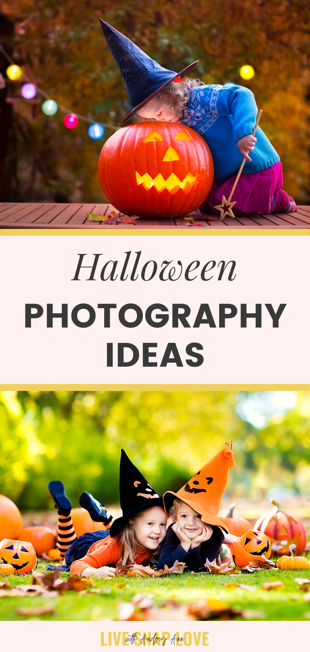 Take amazing halloween photos this year with these halloween photography tips and ideas!