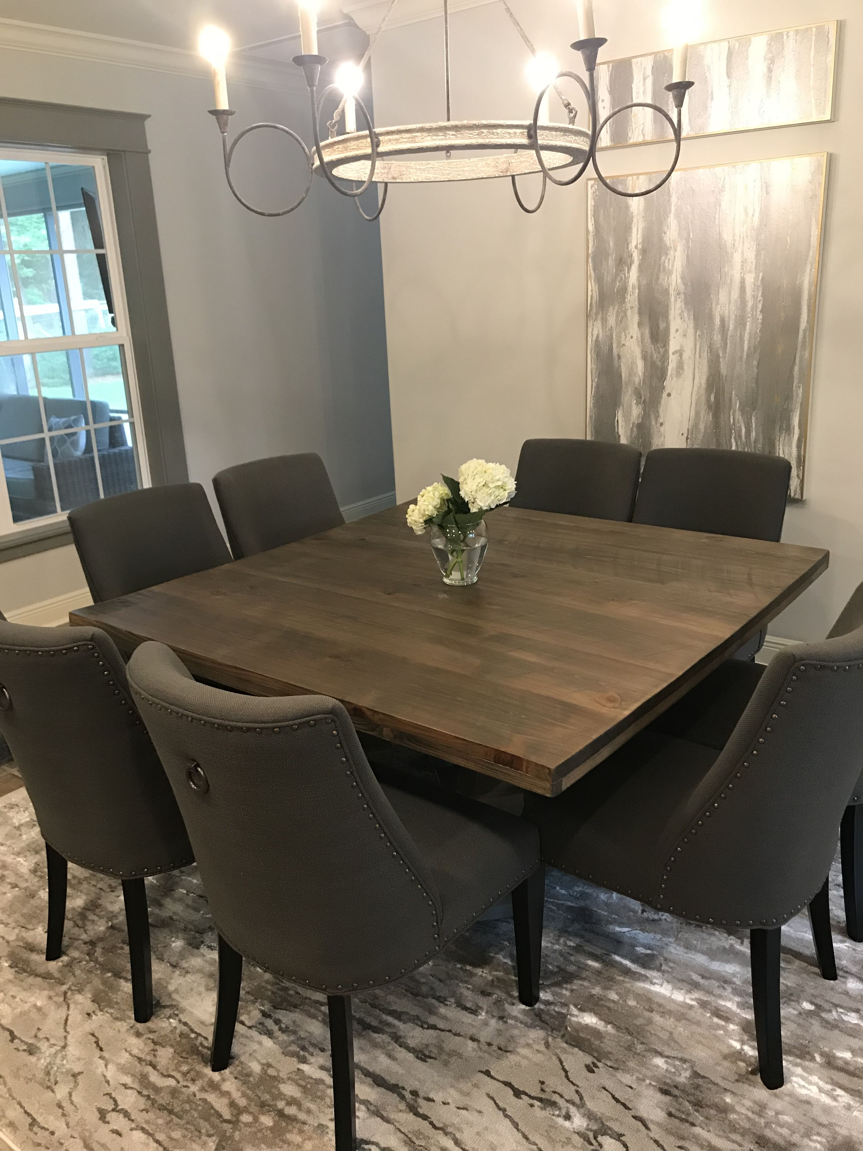 60 Inch Square Table Dining Table Table Square Tables