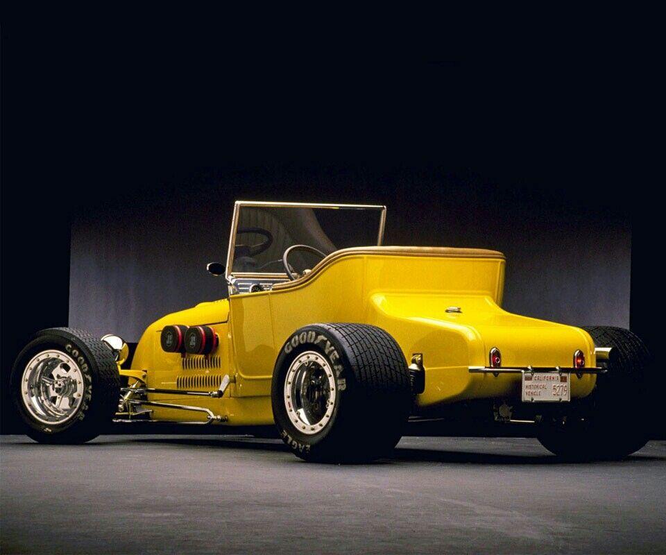 Yellow Car #hotrod #Yellow #vintage | Car Car Car | Pinterest | Cars ...