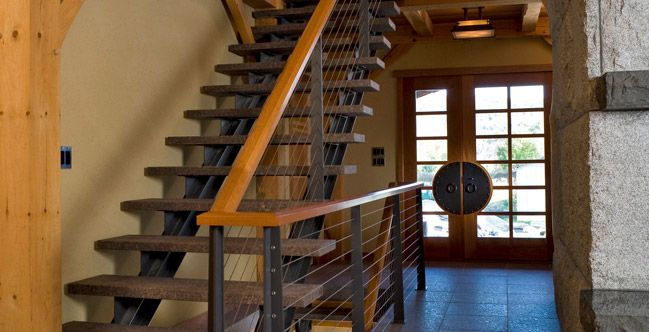Cable+Stair+Railing+System | Cable Railing | Wrought Iron Railings |  Stainless