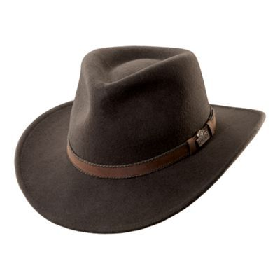 70c86c702 RedHead Wool Felt Leather Trim Hat with Earflaps for Men | Products ...