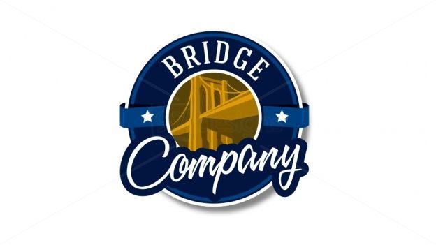 Bridge Logo — Ready-made Logo Designs | 99designs. Badge/emblem style.