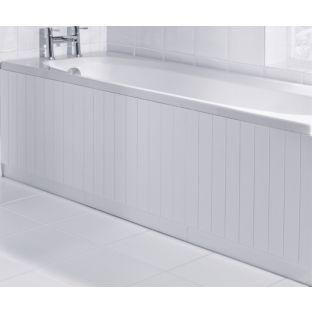 buy boston bath panel white at your online. Black Bedroom Furniture Sets. Home Design Ideas