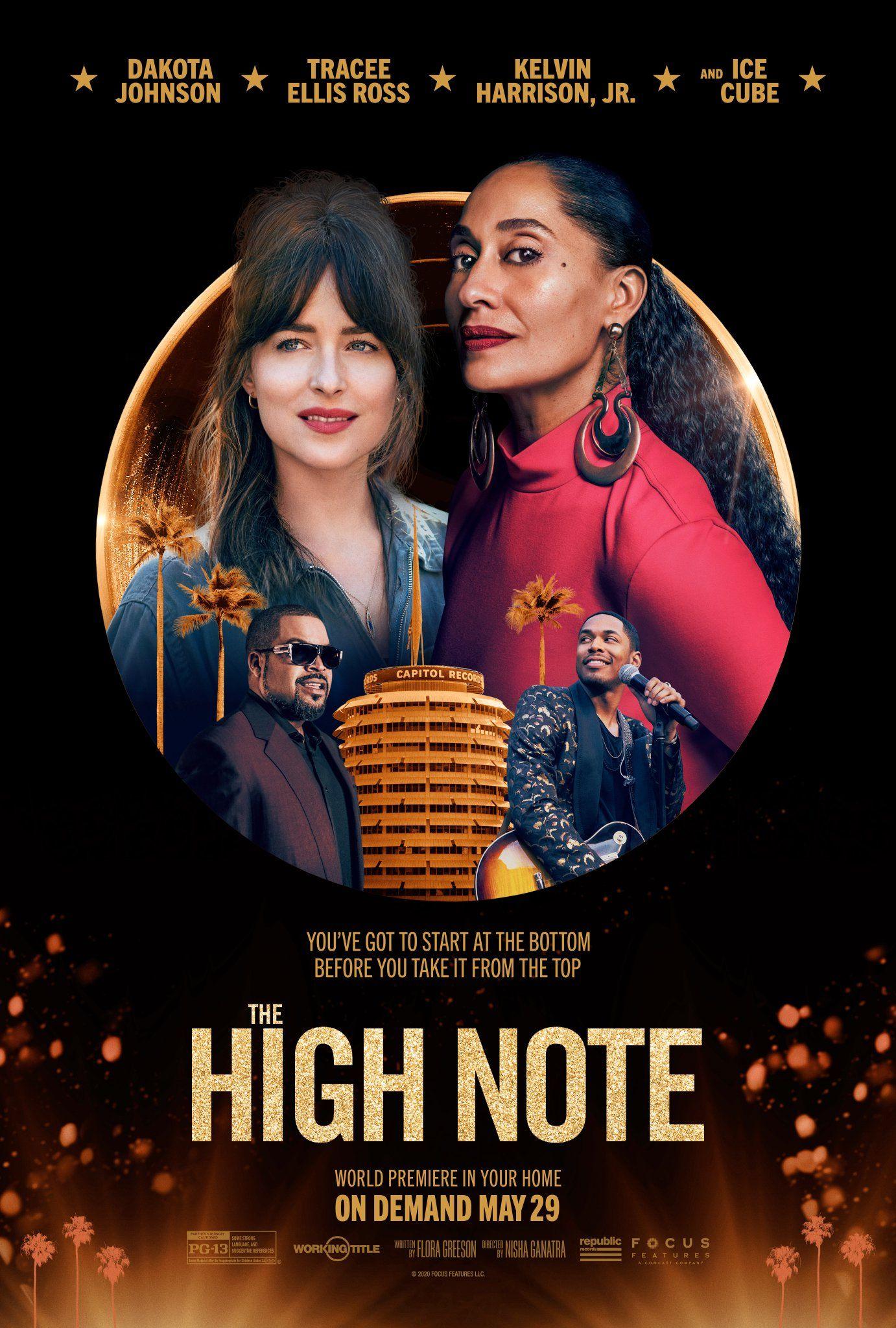 Poster The High Note New Movies Dakota Johnson Hd Movies