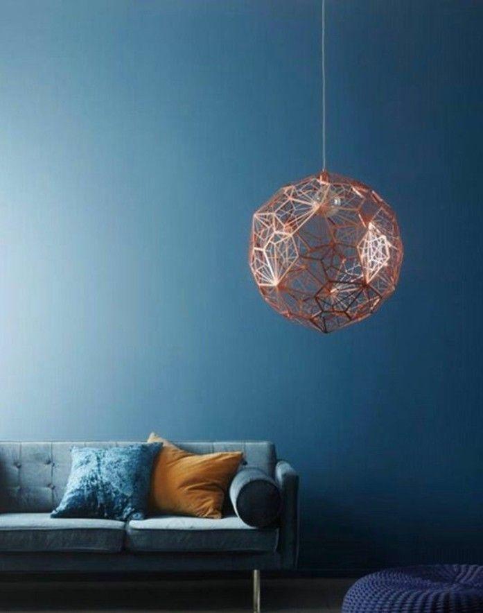 Die Wunderschöne Und Effektvolle Wandfarbe Petrol! | Wandgestaltung Ideen |  Pinterest