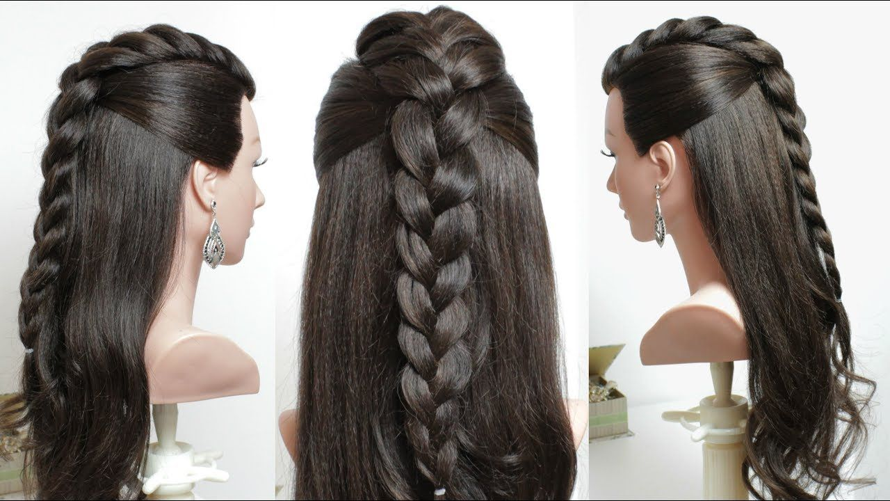 Quick u easy everyday hairstyle hair tutorial hair styling