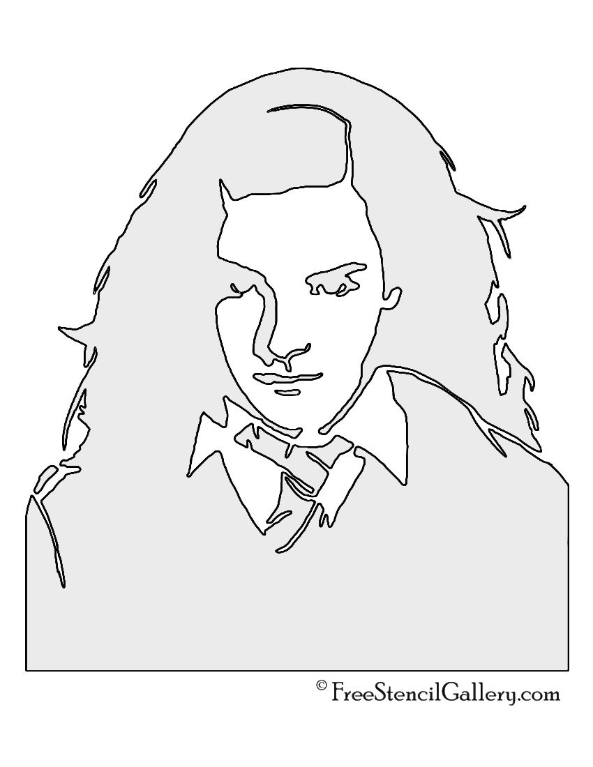 Hermione Granger Stencil Harry Potter Art Drawings Harry Potter Stencils Harry Potter Artwork