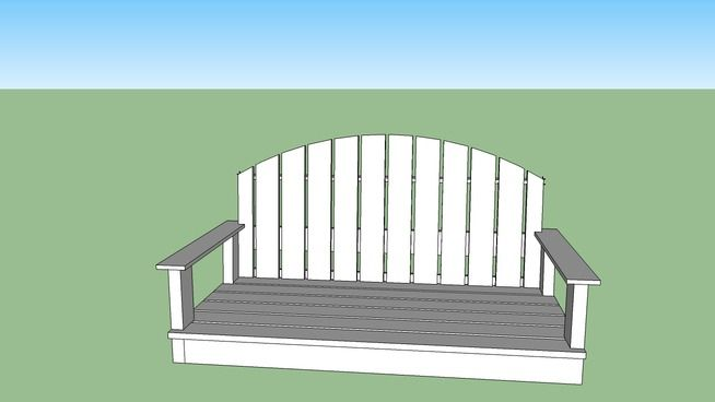 Porch Swing - 3D Warehouse