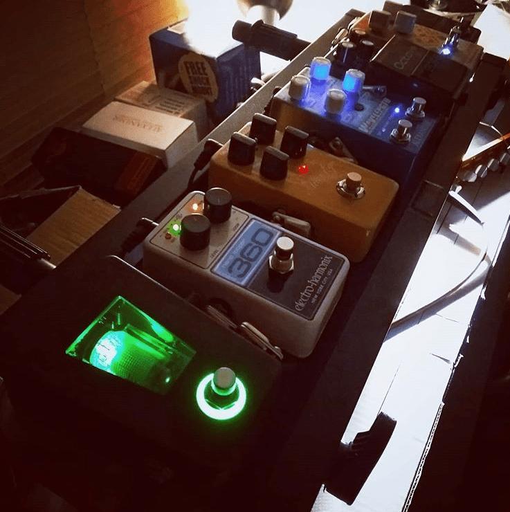 Bass Pedalboard 2020