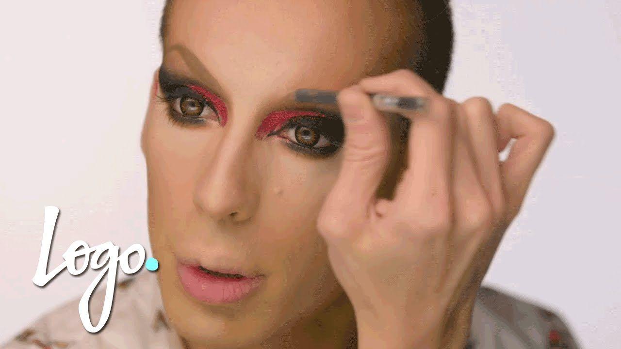 Rupauls drag race ruvealing alaskas red for filth make up drag makeup tutorial alaska thunderfuck red for filth baditri Images