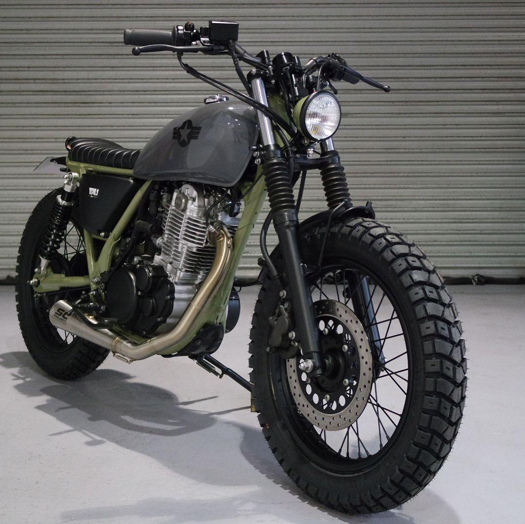 Kevils Latest Moto 27 Custom Built Yamaha Sr400 Efi For Sale